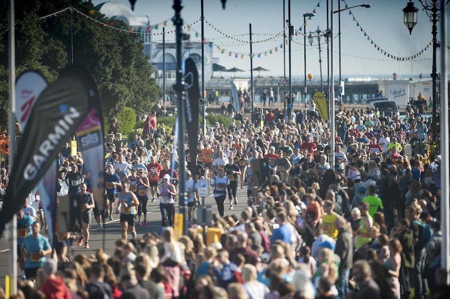Over 20,000 Runners for the Great South Run