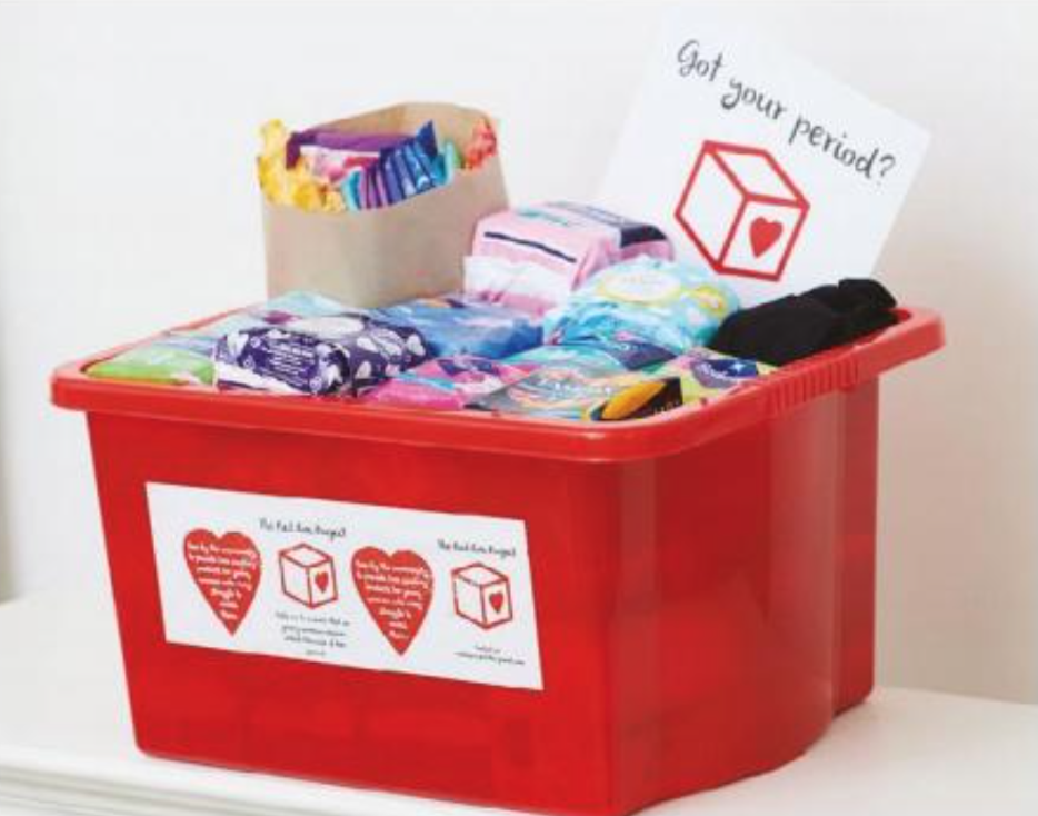 Red Box Project helps girls across the world