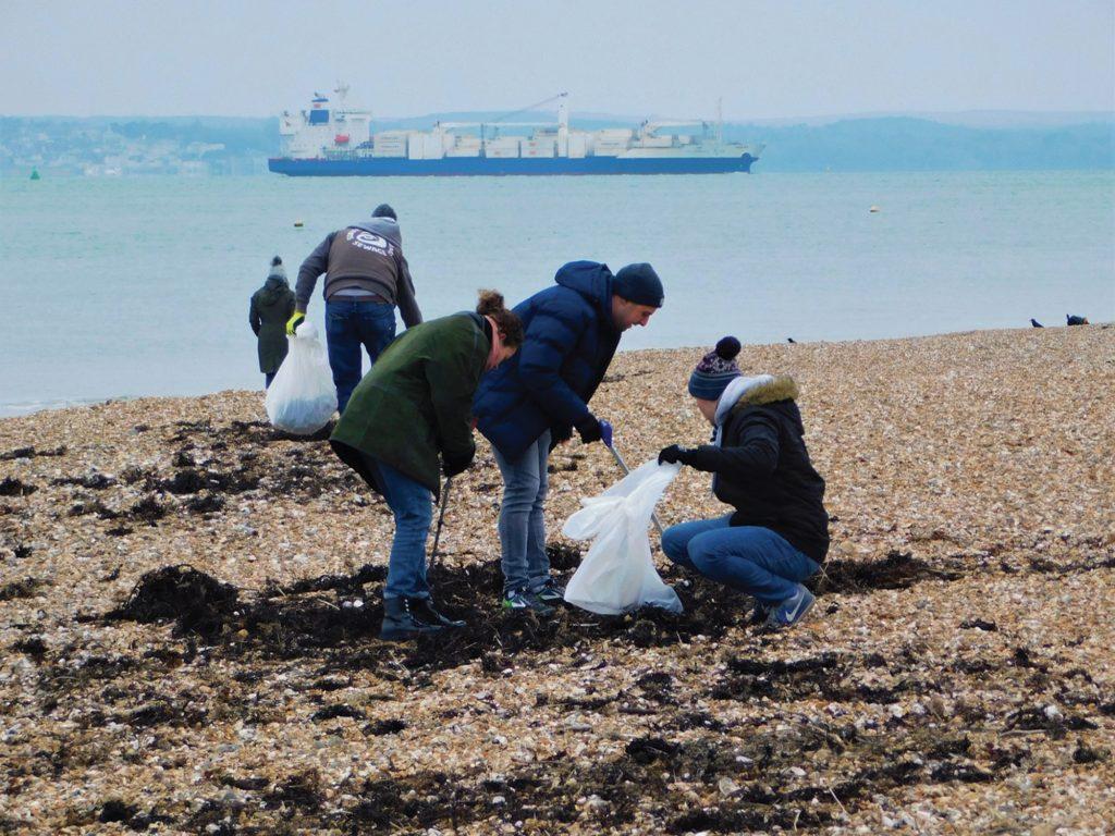 Southsea Beach Clean