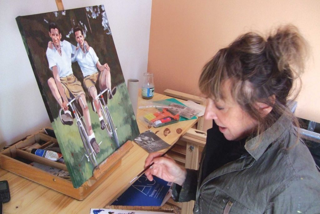 Southsea artist brings the past to life through her paintings